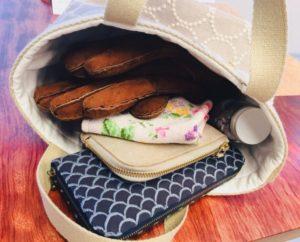ミナペルホネン,トートバッグ,作り方